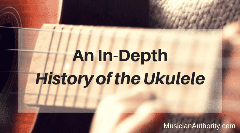 history of the ukulele