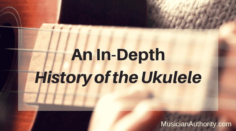 history of the ukulele