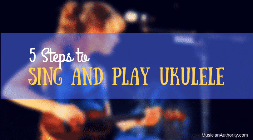 sing and play ukulele