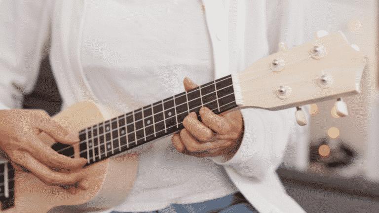 ukulele practice